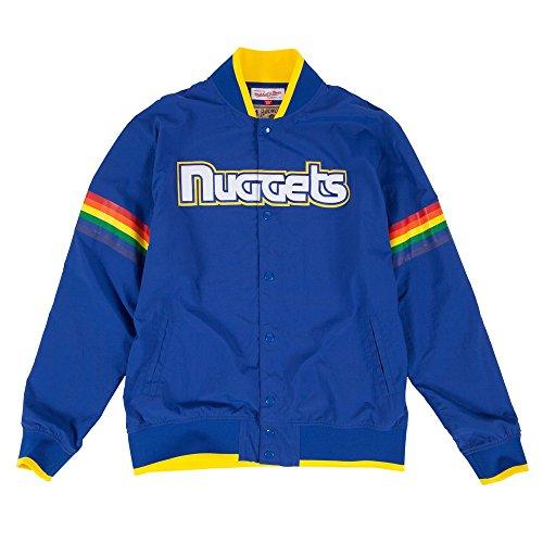 Denver Nuggets Adidas On Court Warm Up Jacket: Denver Nuggets Jacket, Nuggets Coat