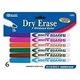 Fine Tip Dry-Erase Marker (6 Pack) Quantity: Case of 72