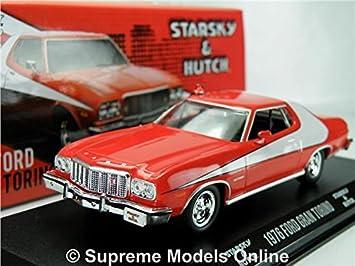 STARSKY & HUTCH FORD GRAN TORINO CAR MODEL 1:43 GREENLIGHT