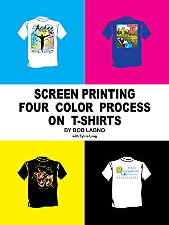 Screen printing four color process on t shirts kindle for 4 color process t shirt printing