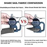 Shade&Beyond Rectangle Sun Shade Sail for Patio