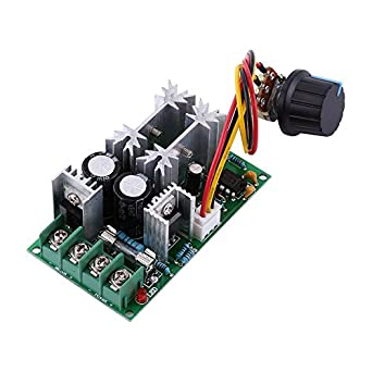 Electronics Production Machinery Dc10-60v Dc 10-60v Motor Speed Control Regulator Pwm Motor Speed Controller Switch 20a Current Regulator High Power Drive Module