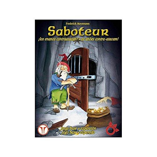 SABOTEUR DELUXE BASICO + EXPANSION: Amazon.es: Juguetes y juegos