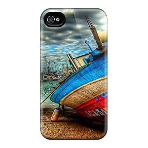 Awesome Design Boat In Dry Dock Hdr Hard Cases Covers For Iphone 6