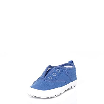 752224f8a Lacoste Baby Blue Rene Crib Trainers  Amazon.co.uk  Shoes   Bags