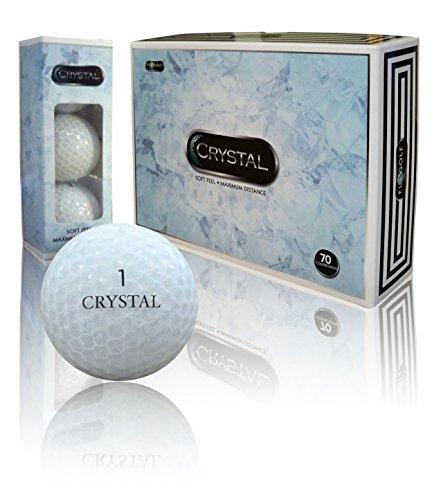- Crystal Golf Brand Golf Balls (Crystal White)