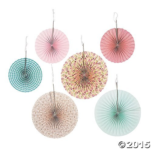 Vintage Collection Hanging Fans (6 pc)