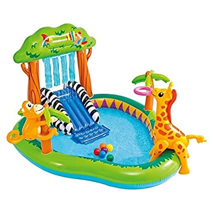 Amazon.com: Intex Jungle centro de juegos piscina hinchable ...