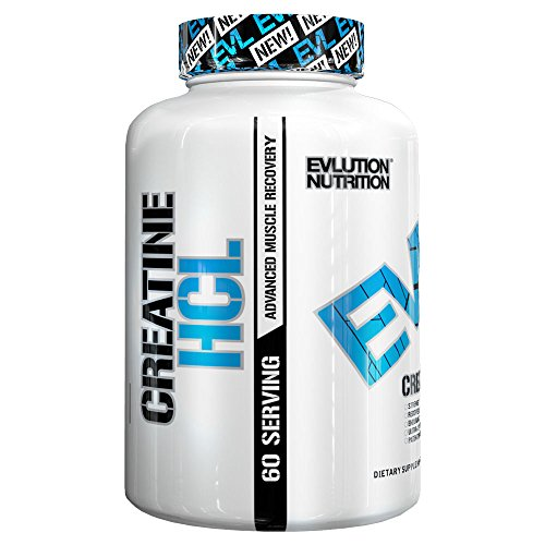 Evlution Nutrition Creatine Creatine HCL 60 Serving capsules