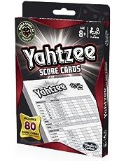 Yahtzee Score Cards Includes 80 Scores Cards - Dice Games - Ages 8+