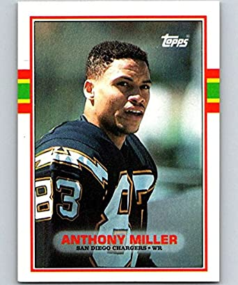 new arrival e7c6c a918b Amazon.com: 1989 Topps #313 Anthony Miller RC Rookie ...