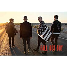 Fall Out Boy Group Poster Print (36 X 24)