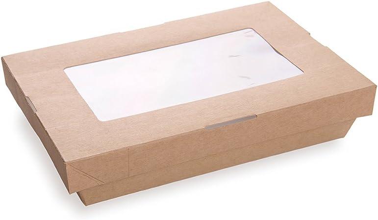 Creamy RZP Rectangular A5 Box Gift Box Box Card Window 15,8x22 300g