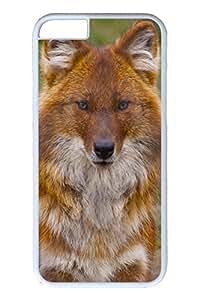 Brian114 6 plus Case, iPhone 6 plus Case - Anti-Scratch Case Bumper for iPhone 6 Plus Indian Wild Fox Slim Fit Case for iPhone 6 Plus 5.5 Inches