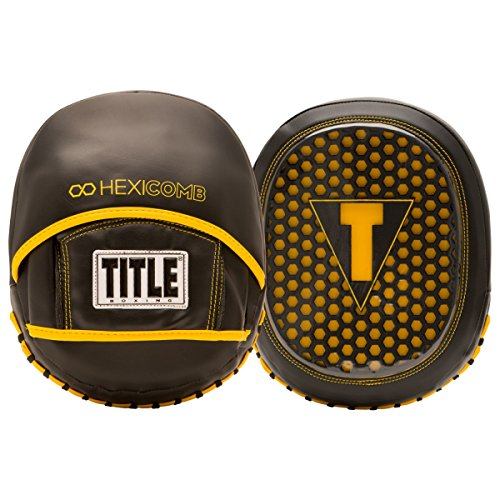 TITLE BOXING HEXICOMB TECH MICRO MITTS (Micro Boxing Mitts)