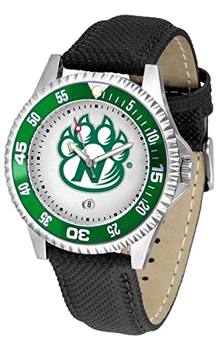 Northwest Missouri State Bearcats Competitor Men's Watch with Nylon / Leather (Bearcats Mens Leather)