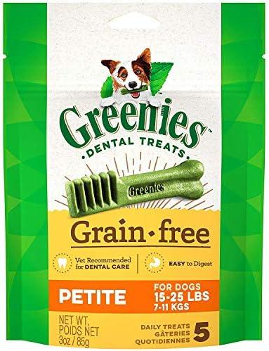 Greenies 12 Oz. Grain Free Treat