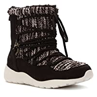 Rocket Dog Women's Otis Blankie Saloon PU Winter Boot, Black, 6 M