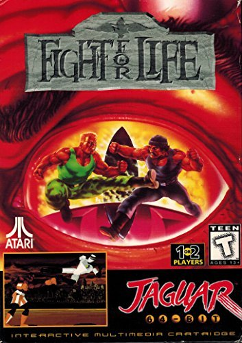 Fight For Life Atar Jaguar 64-Bit Fighting Game
