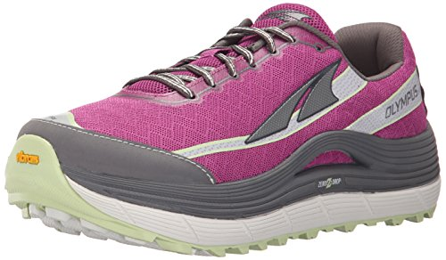 Altra Women's Olympus 2 Trail Running Shoe, Orchid/Gray, 7 M US (Olympus Shoe)