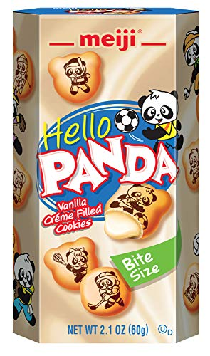 Meiji Hello Panda Cookie, Vanilla, 2.1 oz (Pack of 10)