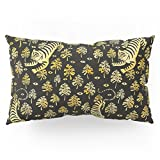 Society6 Tiger Jungle Animal Pattern Pillow Sham King (20'' x 36'') Set of 2