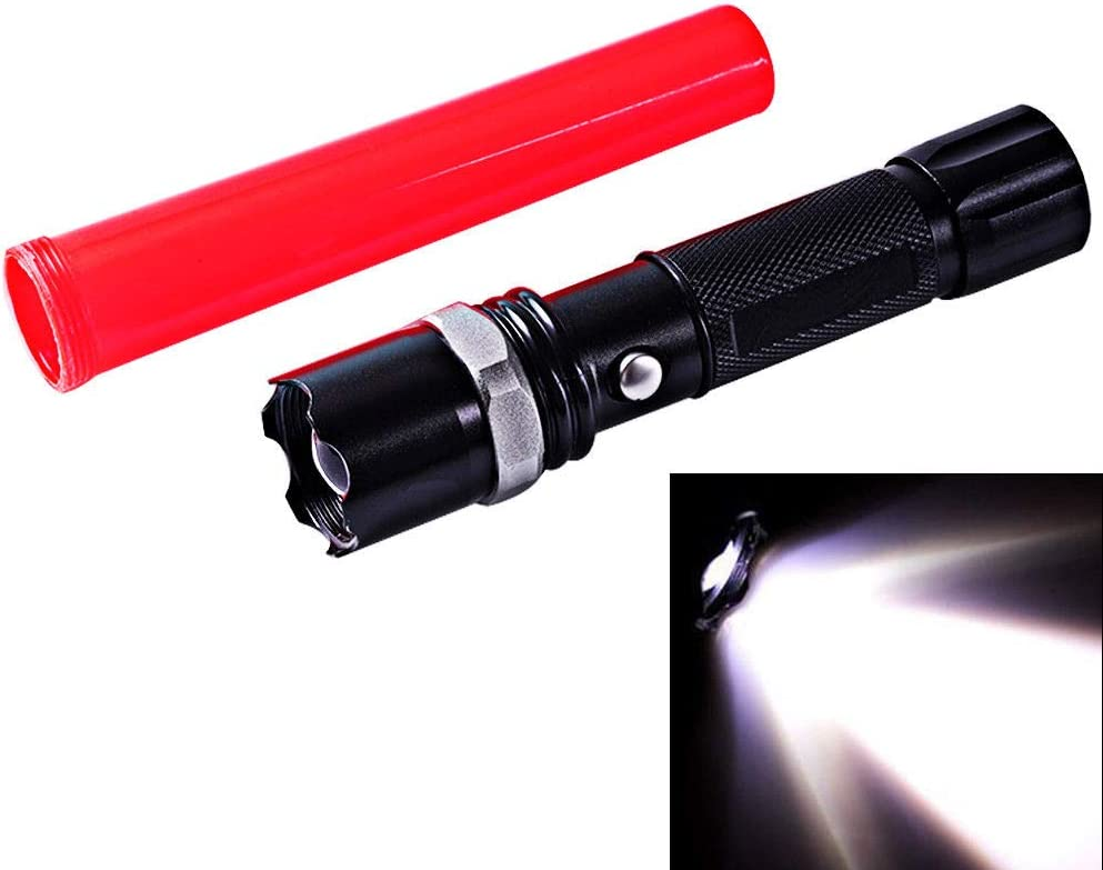 Mode Zoombale Q5LED Lamp Lights Torch Traffic Wand Military Police Present Gifts
