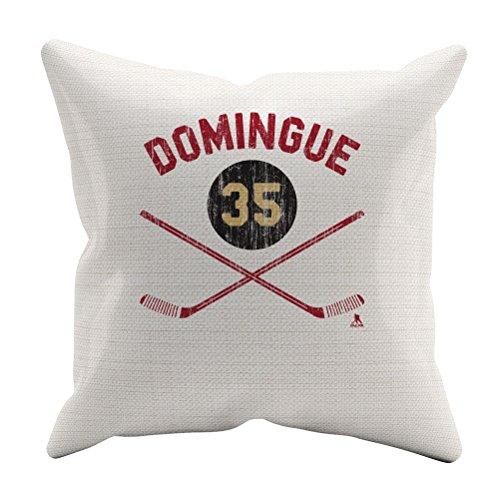 """Louis Domingue Sticks R Arizona Throw Pillow 18"""" x 18"""" White"""