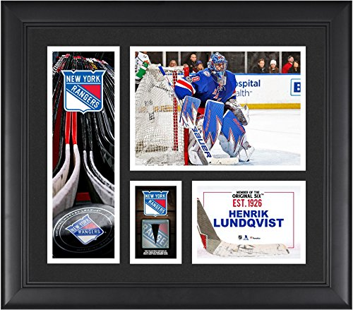 Henrik Lundqvist New York Rangers Framed 15