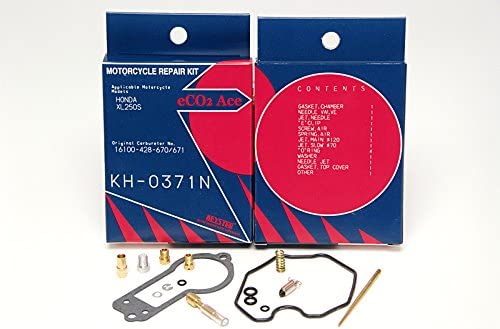 HONDA XL250 XL250S KEYSTER CARB KIT 1978-1981
