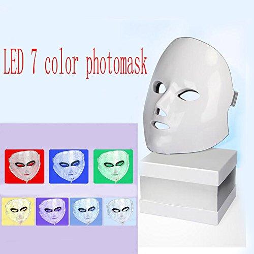 XCXC JIN LED Beauty Mask Photon Therapy 7 Color Skin Rejuven