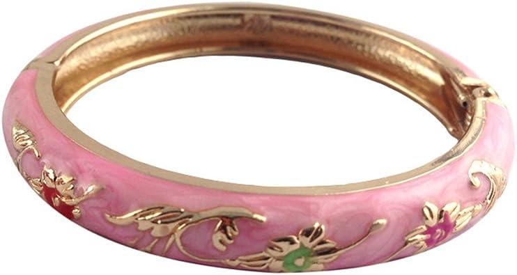 DiamondJewelryNY Double Loop Bangle Bracelet with a St Christopher//Baseball Charm.
