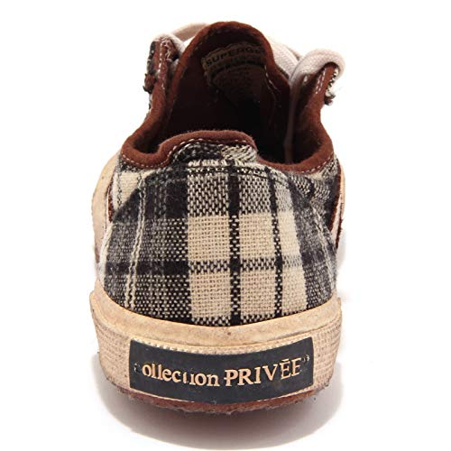 92489 beige Shoes Superga marrone Men Sneaker Scarpa Privee' Uomo Collection Nero rRfrnwTS