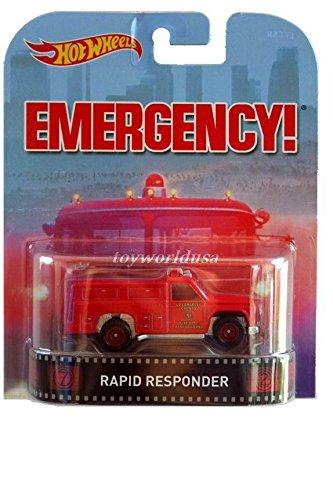 Hot Wheels Retro Emergency Rapid Responder Die Cast