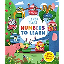 Numbers To Learn: Lift-the-flap Book