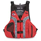 MTI Adventurewear Solaris PFD Life Jacket, Red/Gray, Large/X-Large