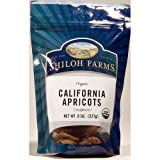 Organic Dried California Apricots - 6 x 8 Oz