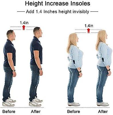 Amazon.com: SQHT's Height Increase Insoles - Gel Shoe Heel Lift ...