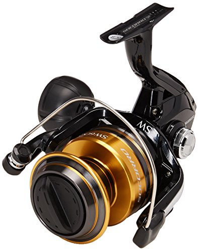 (Shimano Socorro 6000 SW, heavy duty saltwater spinning fishing reel, SOC6000SW)
