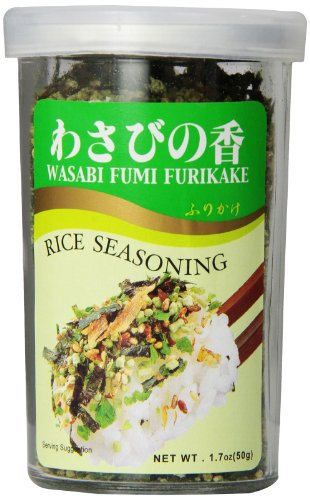 JFC Wasabi Furikake Rice Seasoning, 1.7 Ounce (Pack of 30) by JFC