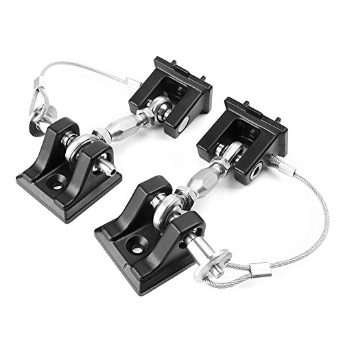 Timmart Hood Catch Lock For 2007-2017 Jeep Wrangler Jk & Unlimited by Timmart (Image #2)