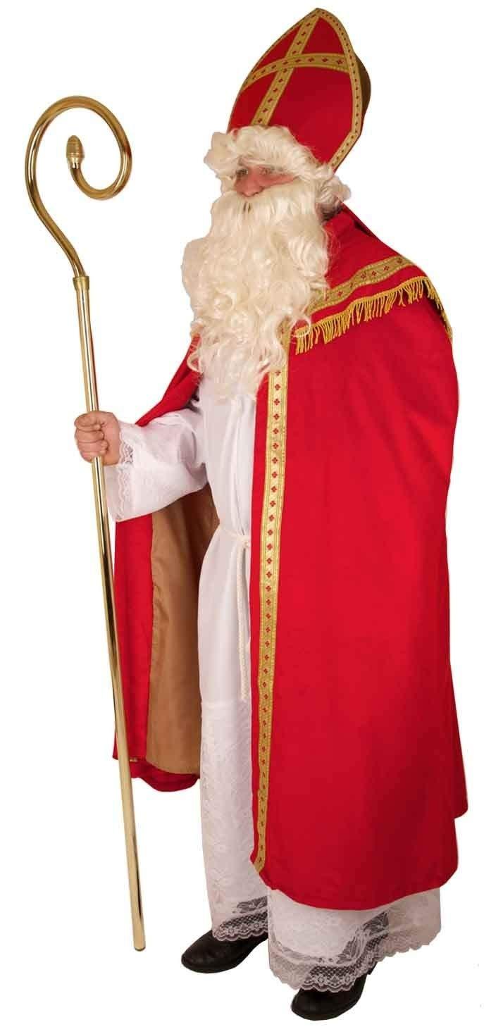 Kostüm Bischof / historischer St. Nikolaus / Santa Claus / / / Weihnachtsmann 4 teilig in Größe 54 f1676e