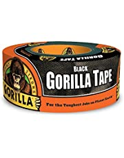 "Gorilla Black Duct Tape, 1.88"" x 12 yd, Black"