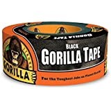 "Gorilla Black Duct Tape, 1.88"" x 12 yd, Black, (Pack of 1)"