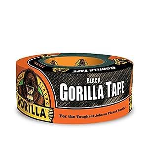 "Gorilla 6001203 Duct Tape, 1.88"" x 12 yd, Black"