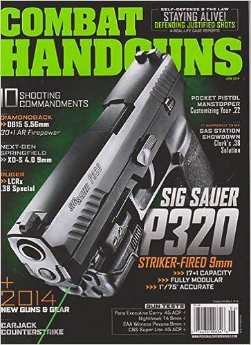 Combat Handguns Magazine June 2014: Amazon com: Books