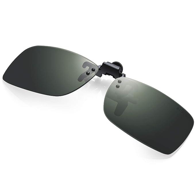 Amazon.com: Acbluce - Gafas de clip sin montura para gafas ...