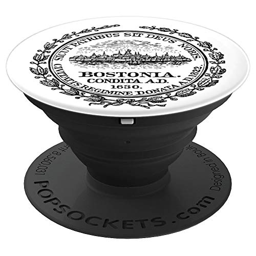 City of Boston Massachusetts - United States of America USA - PopSockets Grip and Stand for Phones and Tablets