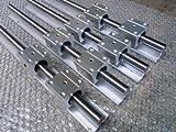 4x SBR20-1500mm 20mm Fully Supported Linear Rail + 8 SBR20UU BlockbEARING