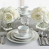 Mikasa Parchment White Dinnerware Set